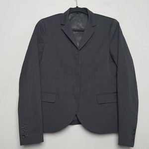 Theory Gray Badelia Wool Blazer Size 6
